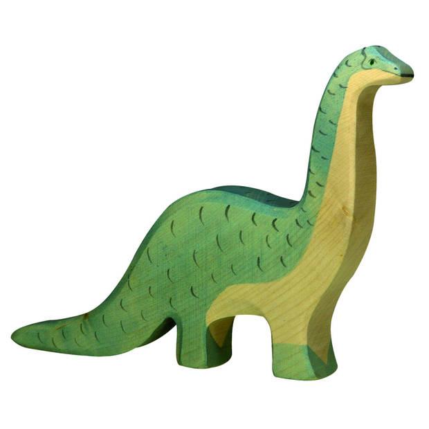 Holztiger Dinosaurus: Brontosaurus