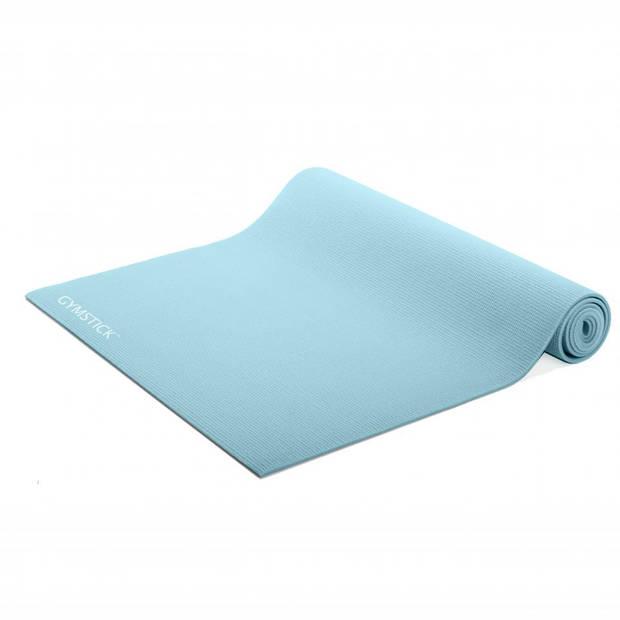 Gymstick yoga mat met online trainingsvideo's - blauw