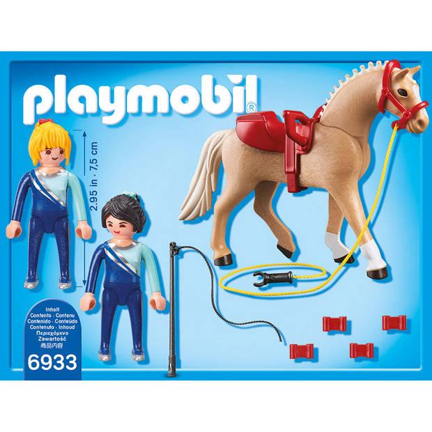 PLAYMOBIL Country voltigeteam met paard 6933