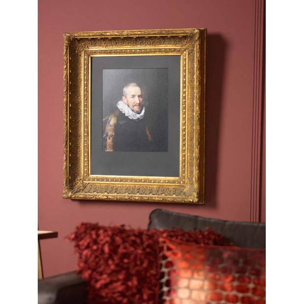 Dutch Decor Sierkussen Shannon 45x45 cm bordeaux
