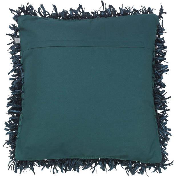 Dutch Decor Kussenhoes Shannon 45x45 cm smaragd