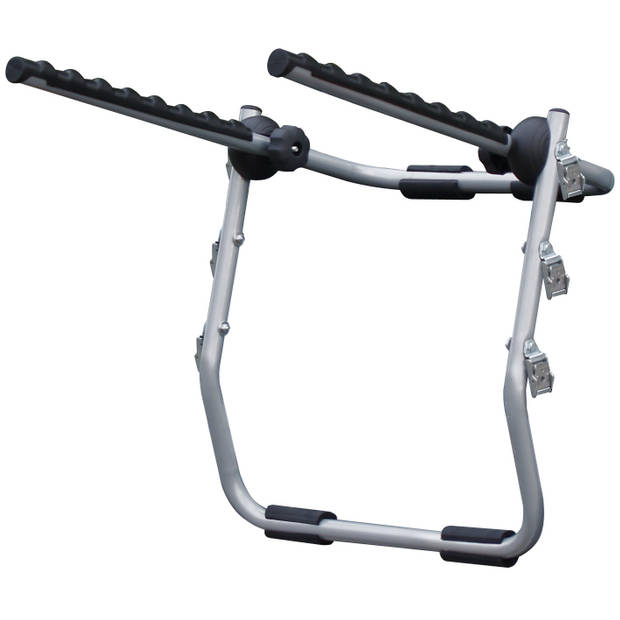 Menabo Biki fietsendrager 3 fietsen zilver