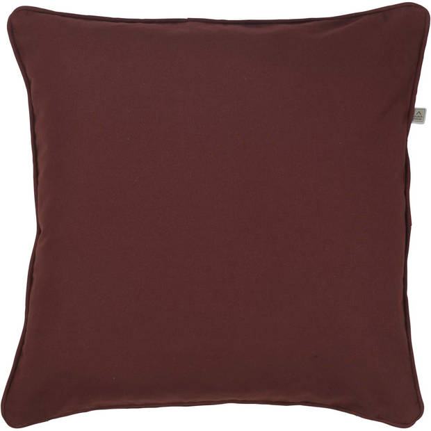 Dutch Decor Kussenhoes Java 50x50 cm bordeaux