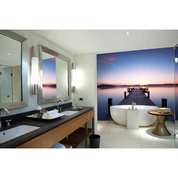 - Pier at Sunrise - 366 x 254 cm - Multi