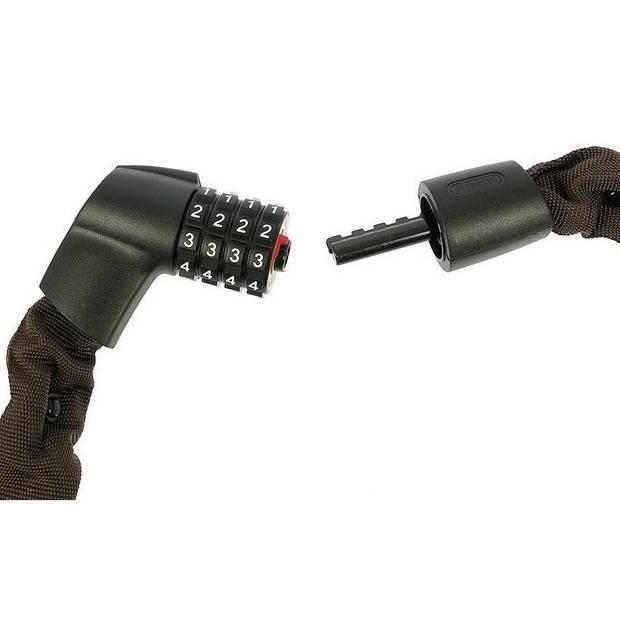 Abus Tresor 1385 kettingslot 1100 x 8 mm zwart