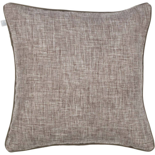 Dutch Decor Sierkussen Alrik 45x45 cm taupe