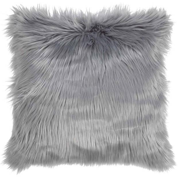 Dutch Decor Kussenhoes Mees 45x45 cm mist