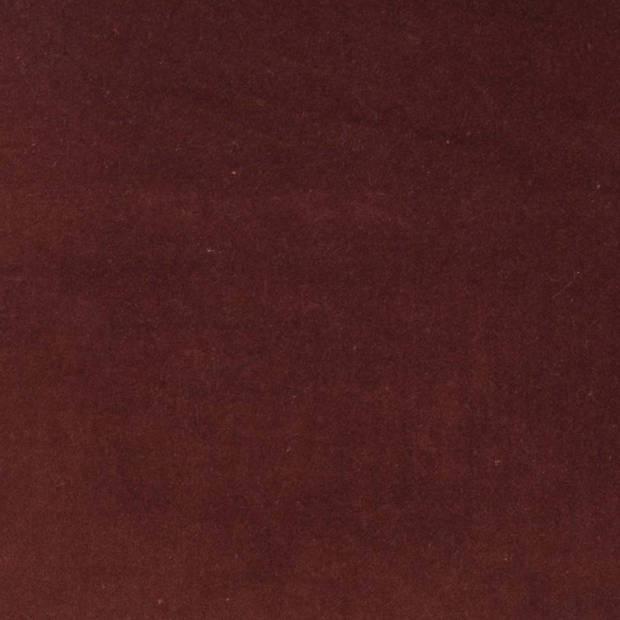 Dutch Decor Kussenhoes Kolon 45x45 cm bordeaux/mahonie