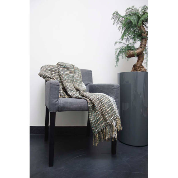 Dutch Decor Plaid Vivan 130x180 cm mist