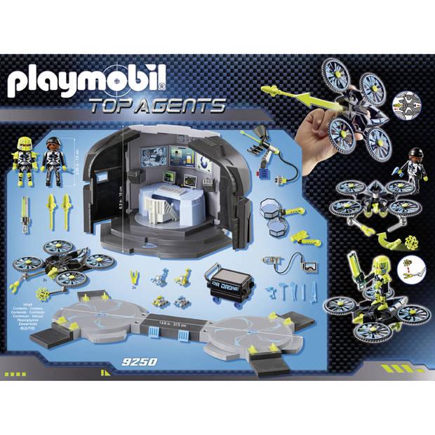PLAYMOBIL Top Agents Dr. Drone commandocentrum 9250