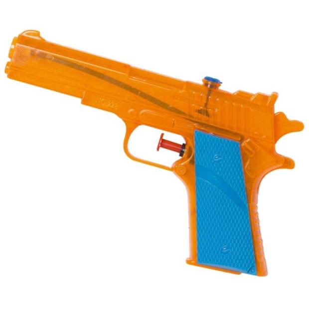 Waterzone waterpistool oranje 18 cm