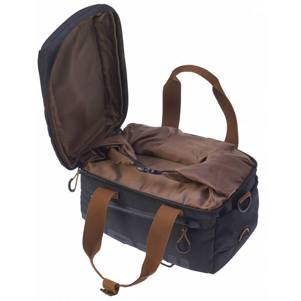 Basil bagagedragertas Miles Topcase 7L zwart - 17668
