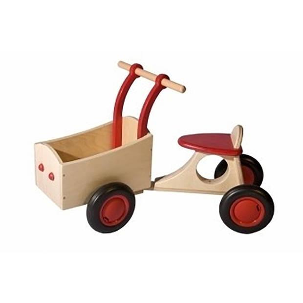 Kinderbakfiets Rood, van Dijk Toys
