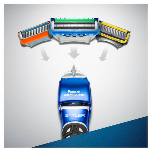 Gillette scheerapparaat Fusion Proglide 3 in 1
