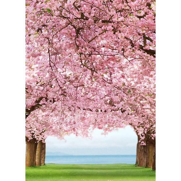 - Cherry Trees - 183 x 254 cm - Multi