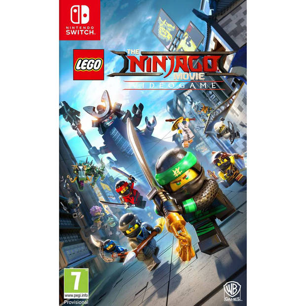 Nintendo Switch LEGO Ninjago Movie The Game