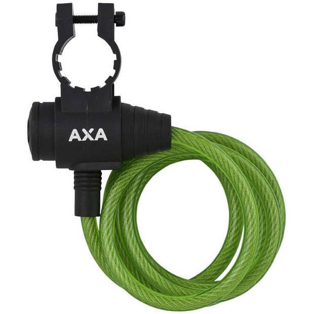 AXA spiraalslot Zipp 1200 x 8 mm groen