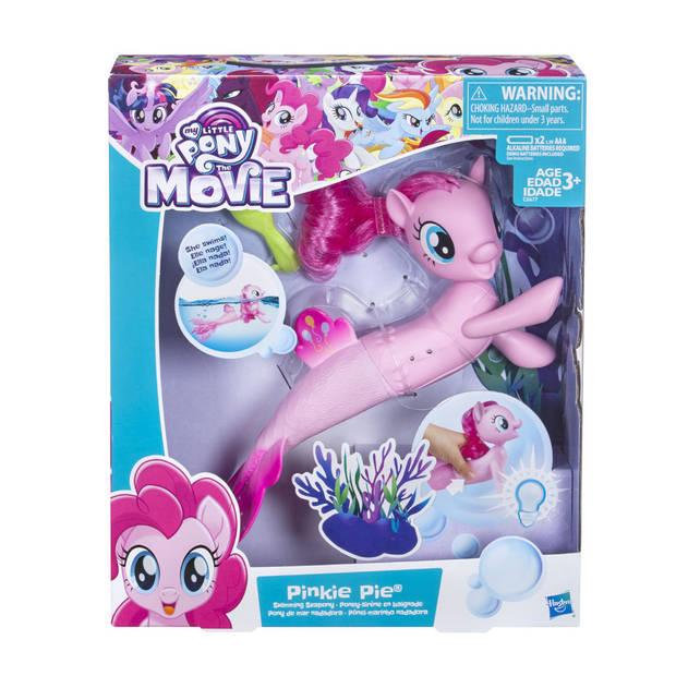 My Little Pony zwemmende zeepony Pinkie Pie - 15 cm