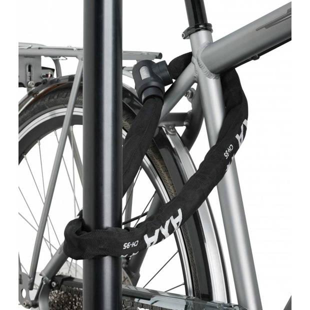 AXA kettingslot Cherto Compact Art** 950 x 9 mm zwart