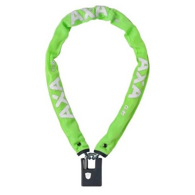 AXA kettingslot Clinch+ 85 cm x 6 mm groen