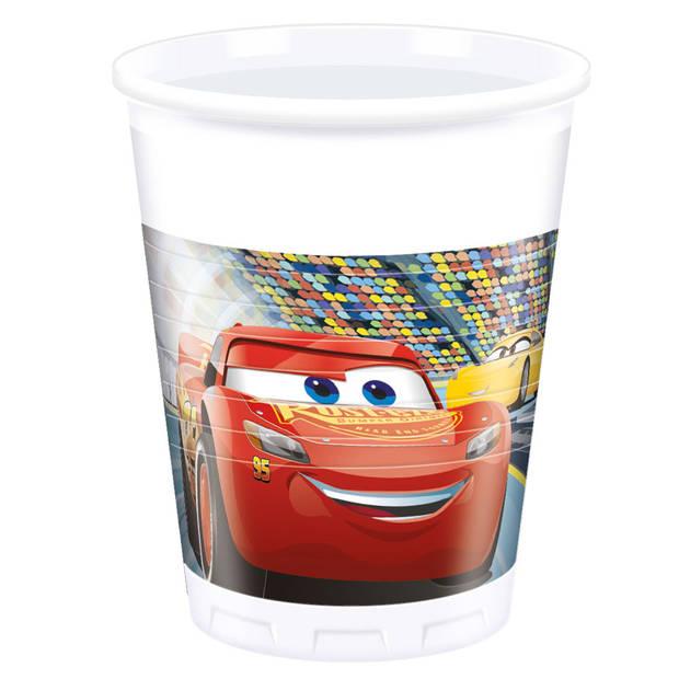 Disney Cars bekers - 8 stuks - 200 ml