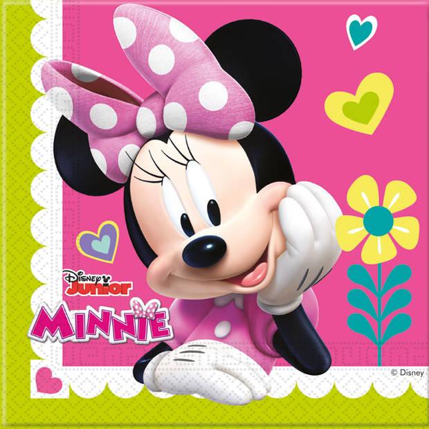 Disney Minnie Mouse Vrolijke Helpers servetten - 20 stuks