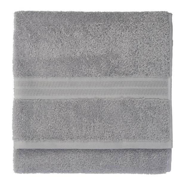 Blokker handdoek 500g - grijs - 50x100 cm