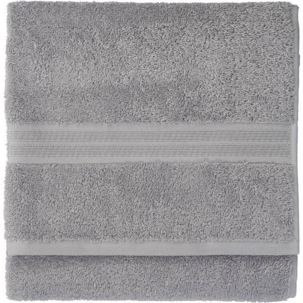Blokker handdoek 500g - grijs - 110x60 cm