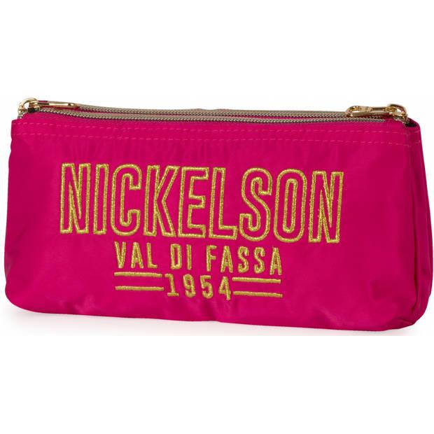 Stationery Team etui Nickelson Girls roze 10 x 21 x 6 cm