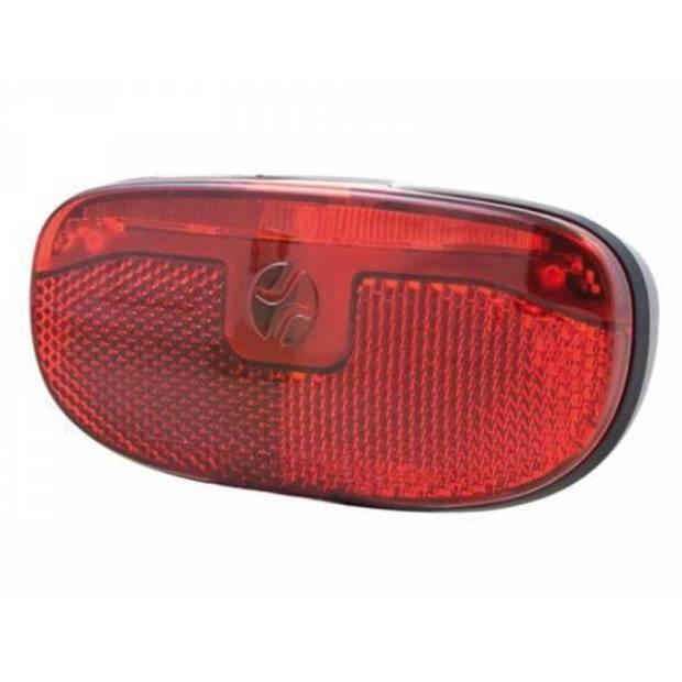 Spanninga achterlicht Duxo led drager batterijen rood