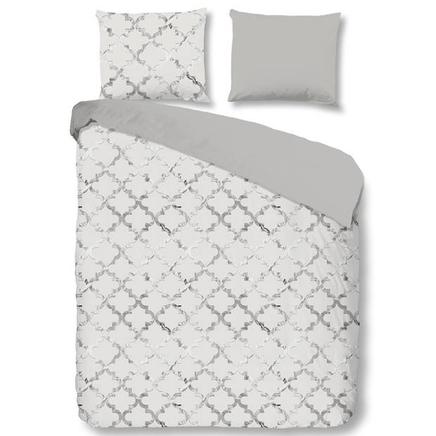 Descanso Dekbedovertrek Grey Elegance 9304-200x200/220