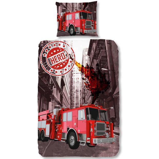 Dekbedovertrek brandweer