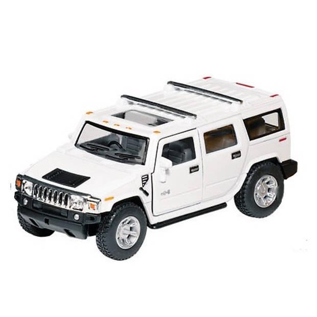 Goki Metalen Hummer H2 SUV: 12,5 cm Wit