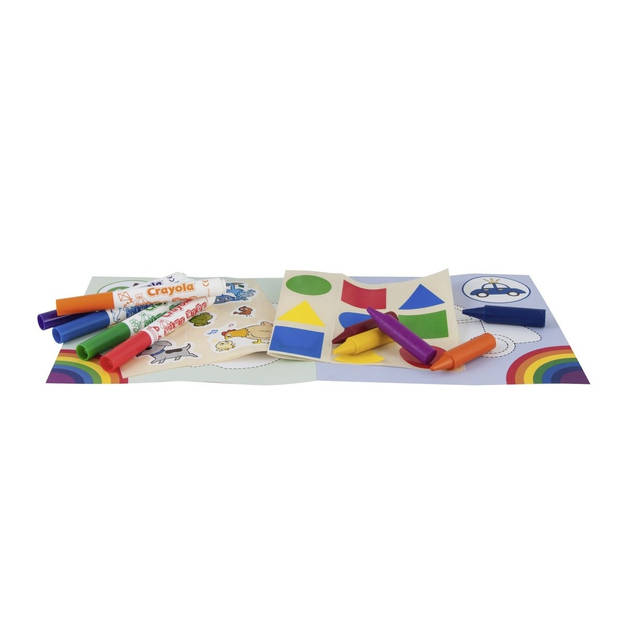 Crayola Mini Kids: kleur en sticker set