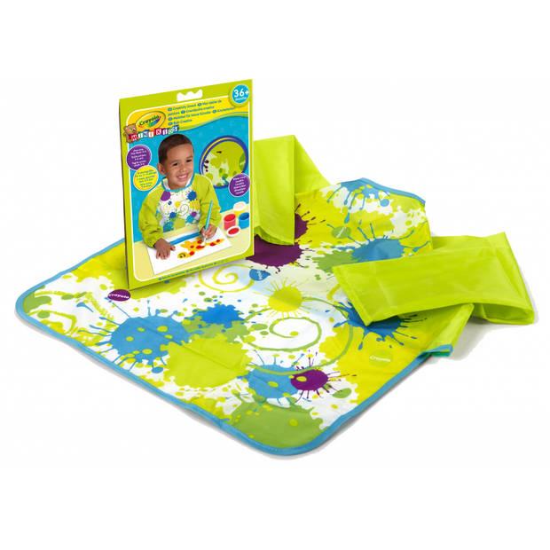 Crayola Mini Kids: verfschort met lange mouwen 3-6 jaar