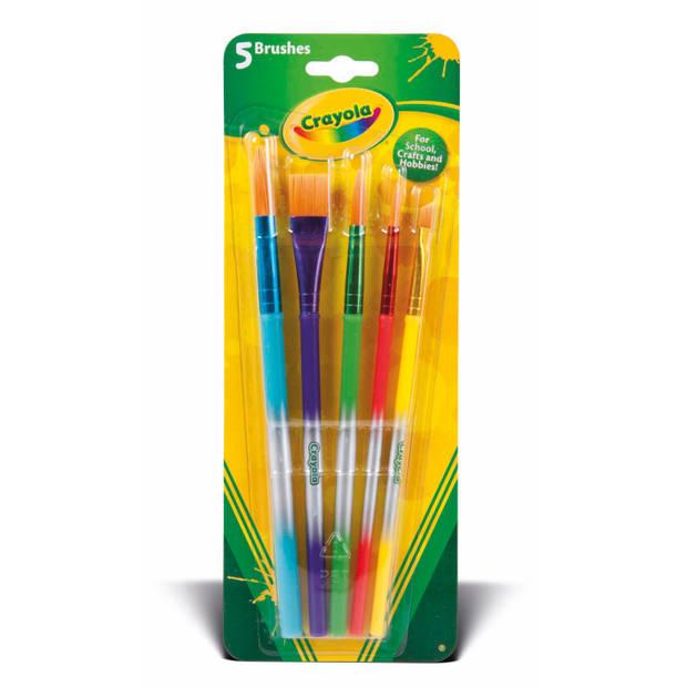 Crayola Penselen 5 stuks