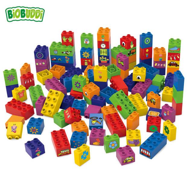 BiOBUDDi bouwen met blokken - 100 stukjes