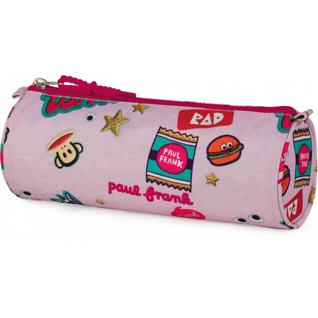 Stationery Team etui Paul Frank roze 23 x 8 x 8 cm