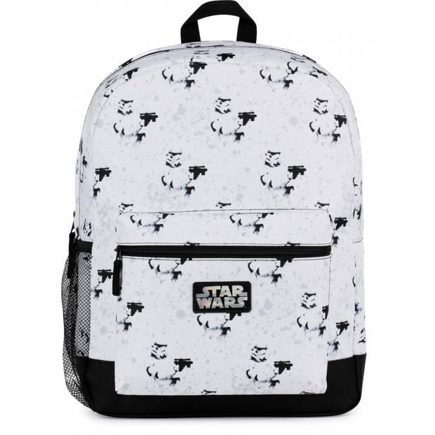 Stationery Team rugzak Star Wars 26 liter wit/zwart
