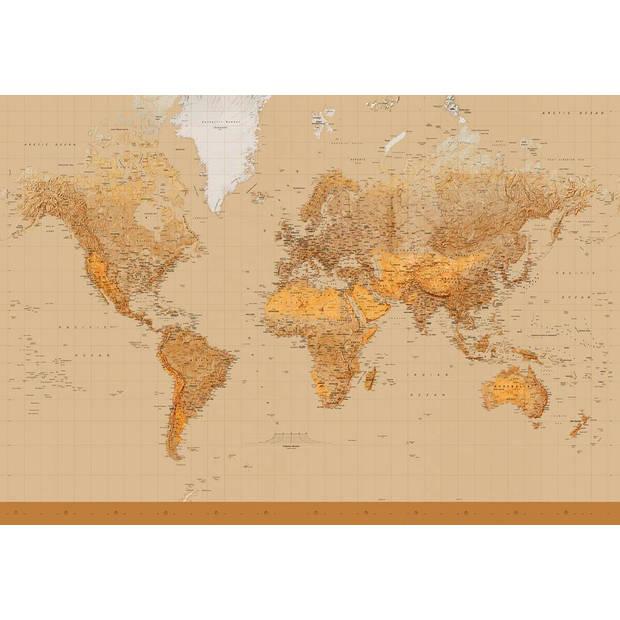 - The World - 366 x 254 cm - Multi