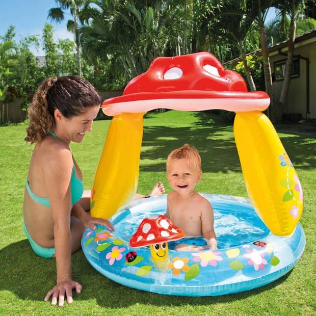 Intex babyzwembad paddenstoel 57114np
