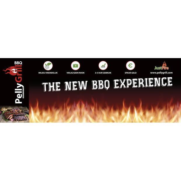 JustFire BBQ PELLET LUXE (uitv model)