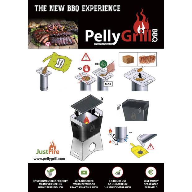 JustFire BBQ PELLET CAMPING