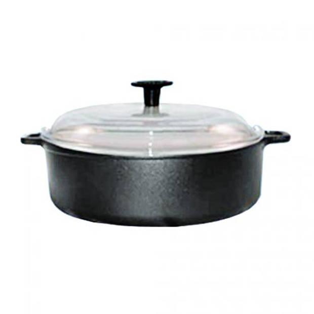 Gietijzeren braadpan rond - 32cm - Ronneby Bruk