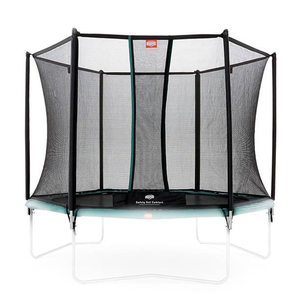 BERG Toys veiligheidsnet Comfort voor trampoline 300 cm zwart