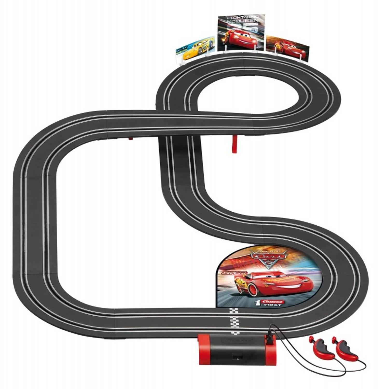 Carrera First racebaan Disney Pixar Cars 3 350 cm