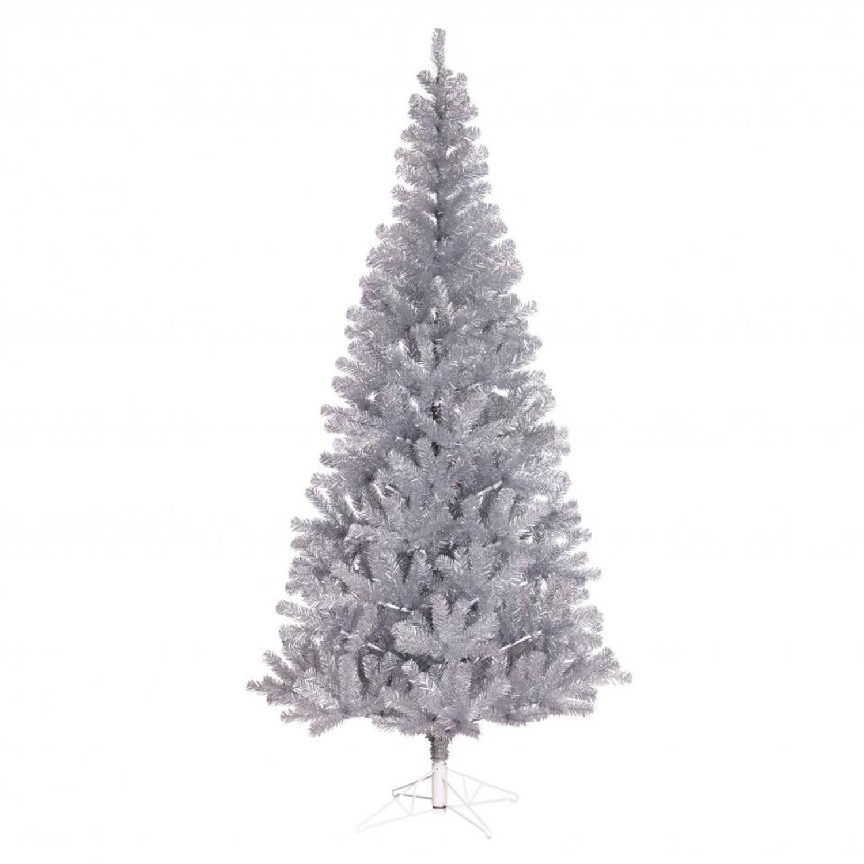 Black Box kerstboom Colchester zilver 75 tips - h60xd41cm | Blokker