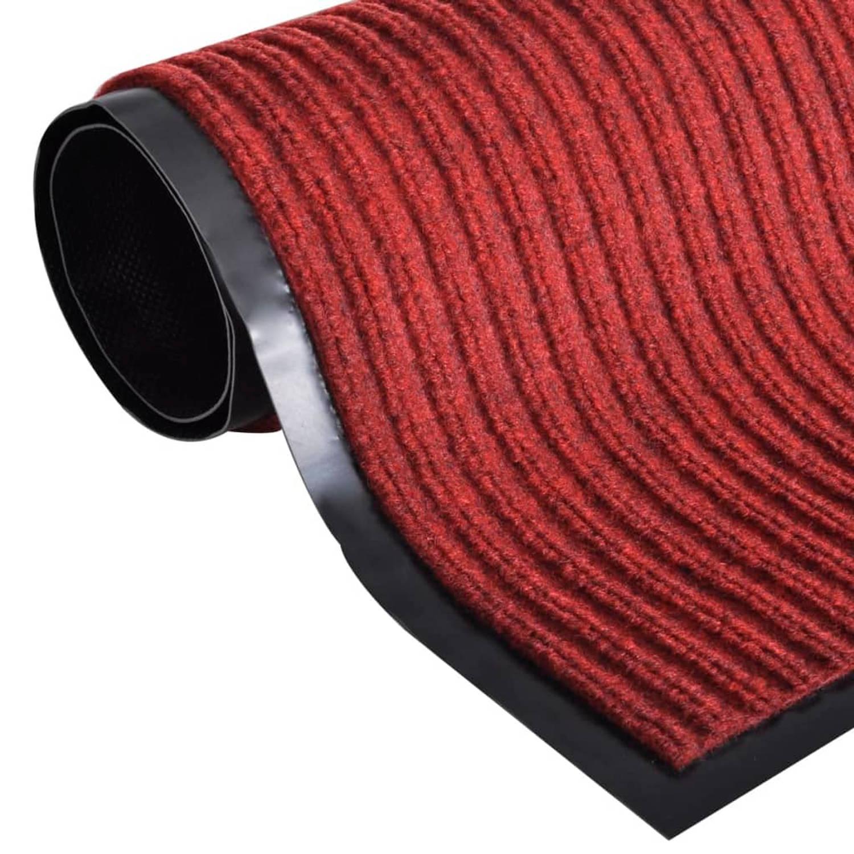 Deurmat PVC 240 x 180 cm (rood)
