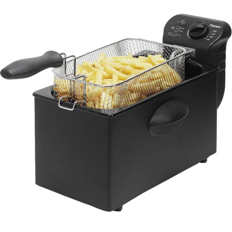 Bestron friteuse 3,5L AF357B - zwart