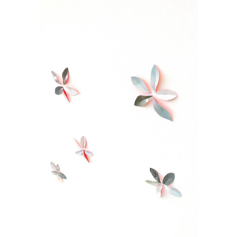 Pepe heykoop papieren behang blaadjes roze